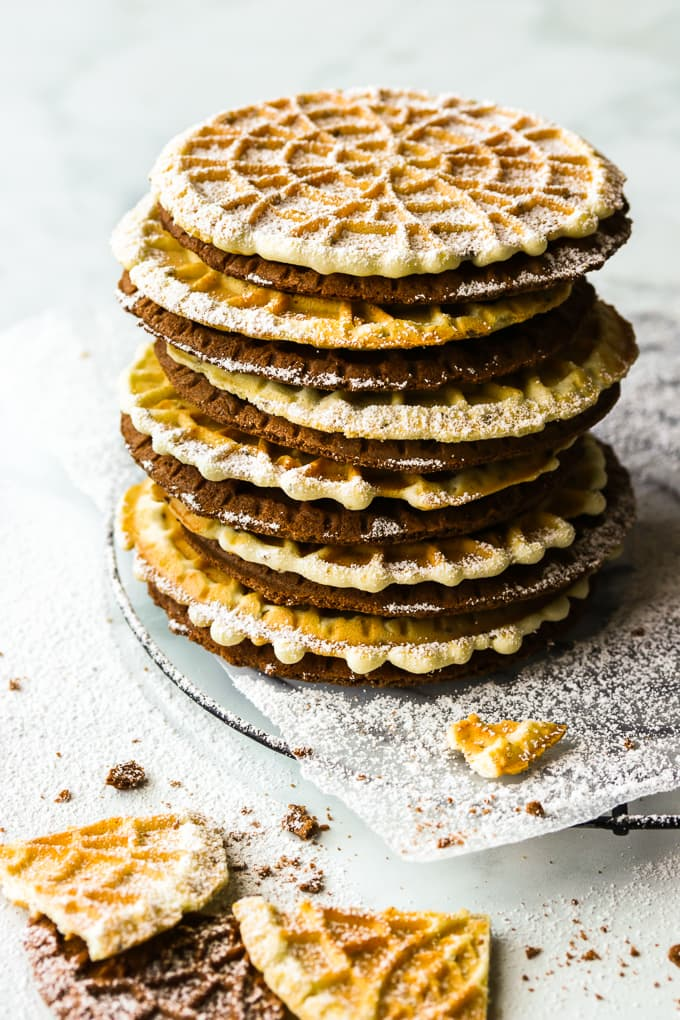 Classic Pizzelle, Italian Wafer Cookies