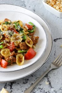 Orechiette with Rapini and Sausage