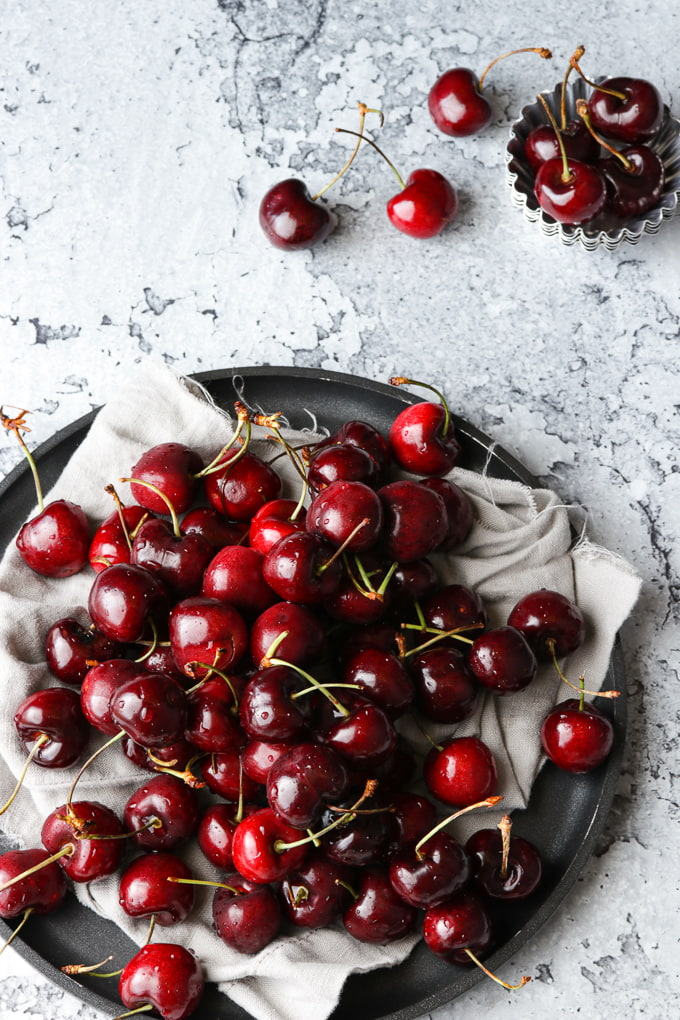 Homemade Brandied Cherries